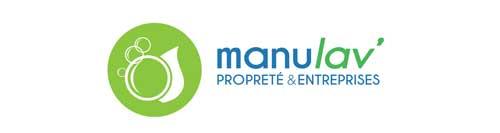 Logo Manulav'entreprise de nettoyage