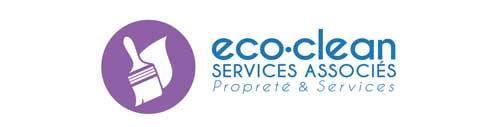 Logo eco-clean, services associés